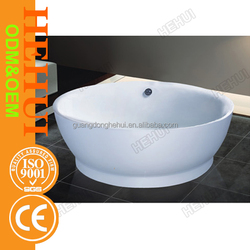 RC-D838 contemporary bathtub and artificial stone baths with small bathtub with legs