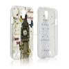 Brand New Fashion Tower Design With Bling Diamond Soft TPU Gel Protective Cover Case for Samsung Galaxy S4 I9500