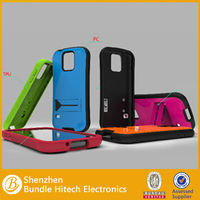 Alibaba Express Robot Style PC+Silicone Case, for Samsung Galaxy S5 Hard Case