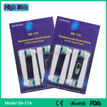 Electrical Toothbrush Heads Replacement SB-17A Compatible Oral Precision Clean B Tooth Brush Head