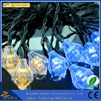 Color changing party solar energy outdoor christmas street light decoration, decorative led lights