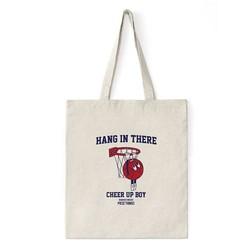 Recycled Blank Canvas Tote Bag, Shoulder Messenger Bag Wholesale