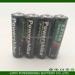 aa size and 1.5V nominal voltage 1.5v aa battery