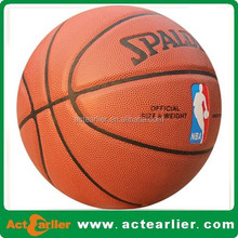 stardard size cheap customize your own basketball for wholesale