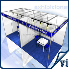 New style shell scheme booth ,3x3 exhibition booth stall design in china Manufacture