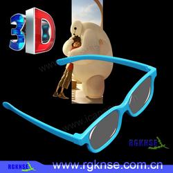2016 rgknse active imax majestic cinema custom logo paper 3d glasses