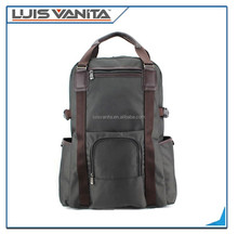 Fashion Grey laptop bag backpack,durable backpack laptop bags