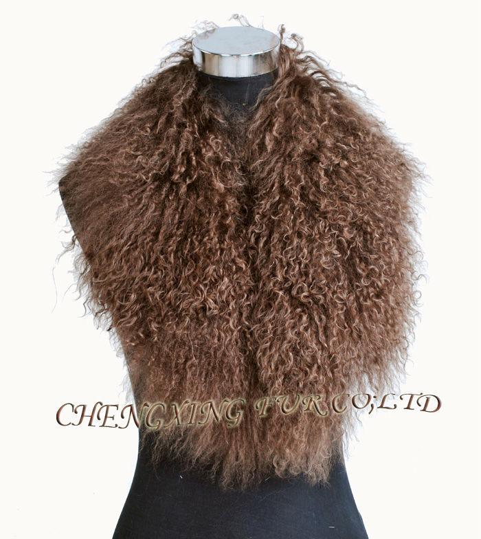 Collo di pelliccia di mongolia