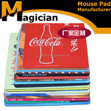 easy-use unique ad fancy design computer mouse pad