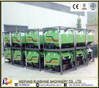 mini round hay bales machine
