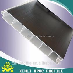 60 casement window pvc profile/China upvc profile factory/building materials