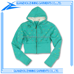Heavy Thick Womens Hoodie with Full Zipper