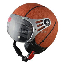 basket ball open face helmet for motorcycle scooter and street bike