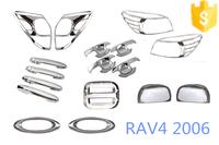 Trade assurance supplier 21 pcs/set for Toyota Rav4 2006-full sets car 4x4 accessories full chromed kits