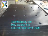 black hdpe sheet, hdpe board, hdpe block support