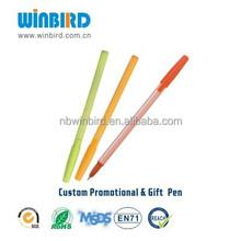 Cheap stick pens ball point pen