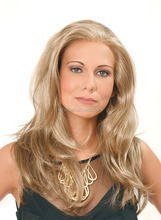 Premier Hair 18inch blonde brazilian hair full lace wig 613# full lace wig