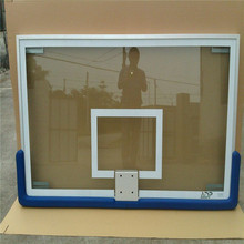 Wholesale Basketball equipment Basketball backboard with tempered glass and aluminum