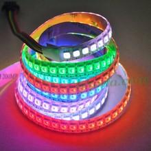 Programmable rgb led strip AP102 with 144dots per meter, rgb digital led strip