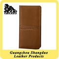 Bestsell tarjeta de embarque cubierta de cuero personalizada libreta de pasaporte