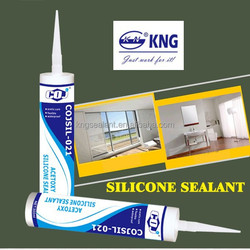 COJSIL-021 acetic acid sealant clear silicone of glass
