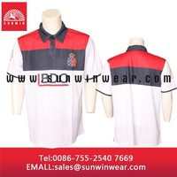Cheap Polyester Dye Sublimation Printing Dry Fit Soccer Polo T shirt