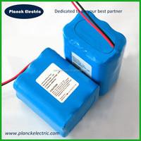 Lithium ion battery pack 18650 2S 7.4v 6600mah li-ion battery pack