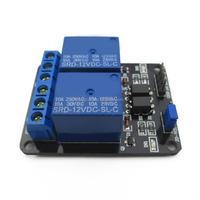2 RELAY MODULE MICROCONTROLLER DEVELOPMENT BOARD WITH OPTO- ELECTRONIC COMPONENTS RELAY 12V