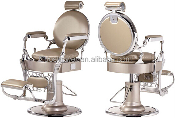 Merveilleux Barber Styling Chair/ Vintage Style Hair Salon Equipment China