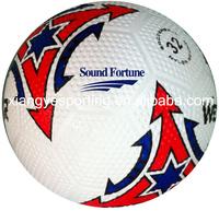 2015 popular golf rubber size 5 soccer ball
