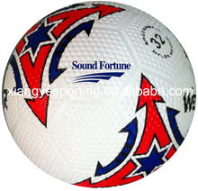 2015 popular golf rubber size 5 soccer ball