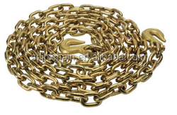fashion color chain \gold link chain for dog \pet chain