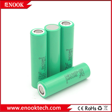 Free sample samsung 18650 25r 2500mAh rechargeable battery with lowest price