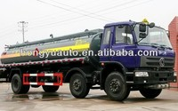 3 Axles 20CBM Dongfeng chemical liquid tank truck for sale