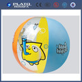 Pvc de dibujos animados inflable pelota de playa, bola lindo para los niños
