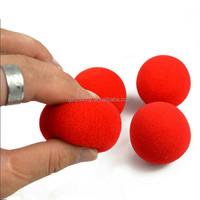 2015 New Fashion Close-Up Magic Sponge Ball Brand Street Classical Comedy Trick Soft Red Sponge Ball