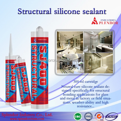 Supply low price high-temp transparent structural silicone Sealant