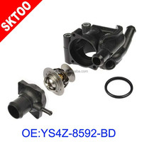 01-04 Escape Foc us Tribute Thermostat Housing Water Outlet YS4Z8592BD