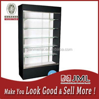 New design MDF/Wood clothing display cabinet/clothes dislay stand/shelf/racks