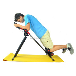 Abdominal Machine Exercise Crunch Roller Workout Exerciser