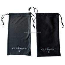 logo photo custom made printed microfiber sunglass bags
