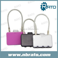 RP-166 wire rope combination lock