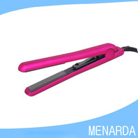 "1.25"" ceramic floating Plates Customize solf touch hair straightener"