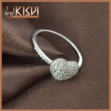 Diamond Ring 925 Sterling Silver Jewellery With AAA Zircon