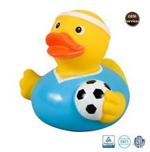 Soccer Ball Rubber Duck