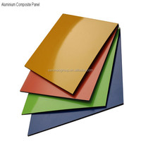 lightweight building material aluminum laminated sheet,non combustible material