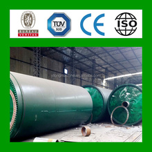 EU satisfied used tyre pyrolysis machinery to get oil from rubber pyrolysis