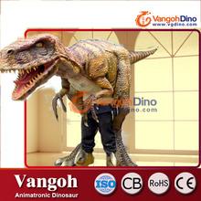 VDG748 traje de dinosaurio mecánico para adultos animales de fibra de vidrio para la venta