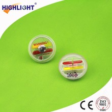 Highlight IP013 brand name clothes shop display security 8.2MHz alarming ink tag/ benefit denial