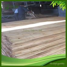 Dimension in 2500*1270*1.6mm Kiln Dried Sliced Eucalyptus Wood Veneer